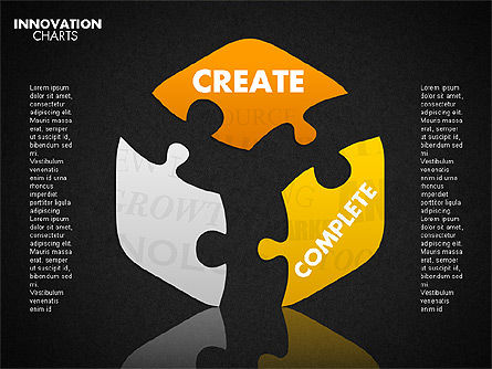 Innovation Puzzle, Slide 15, 01719, Puzzle Diagrams — PoweredTemplate.com