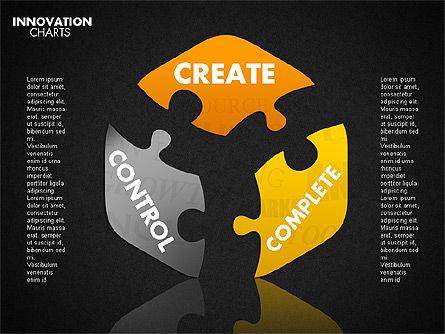Innovation Puzzle, Slide 16, 01719, Puzzle Diagrams — PoweredTemplate.com