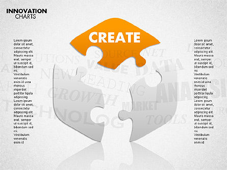 Innovation Puzzle, Slide 6, 01719, Puzzle Diagrams — PoweredTemplate.com