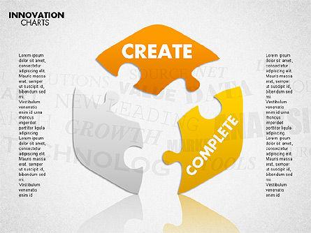 Innovation Puzzle, Slide 7, 01719, Puzzle Diagrams — PoweredTemplate.com