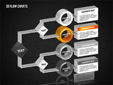 3D Flow Charts with Circles#13