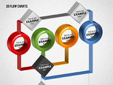 3D Flow Charts with Circles#3