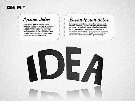 Creativity, Slide 4, 01723, Business Models — PoweredTemplate.com