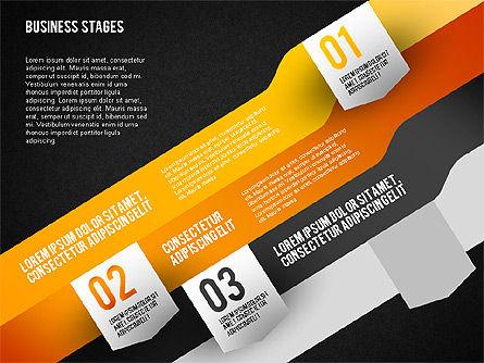 Business Options Stages, Slide 11, 01727, Business Models — PoweredTemplate.com