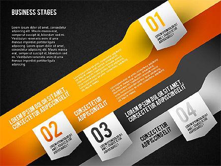 Business Options Stages, Slide 12, 01727, Business Models — PoweredTemplate.com