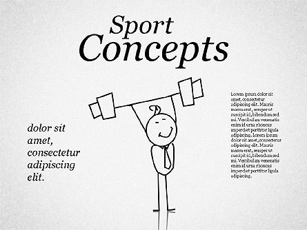 Shapes: Sports Business Characters #01730