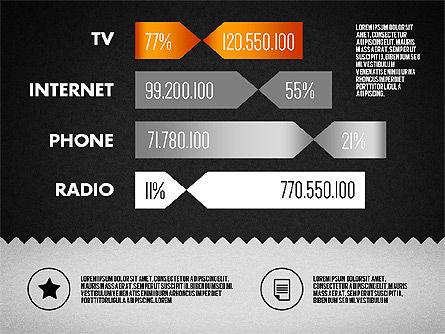 Media Distribution Infographics, Slide 13, 01731, Business Models — PoweredTemplate.com