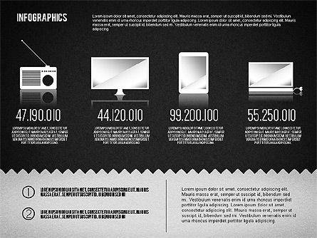 Media Distribution Infographics, Slide 14, 01731, Business Models — PoweredTemplate.com