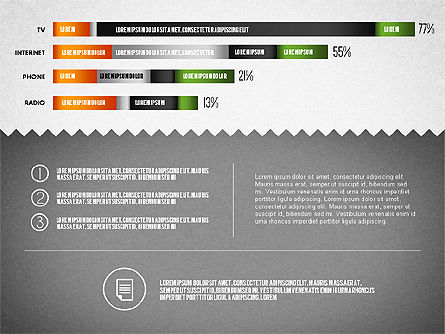 Media Distribution Infographics, Slide 4, 01731, Business Models — PoweredTemplate.com