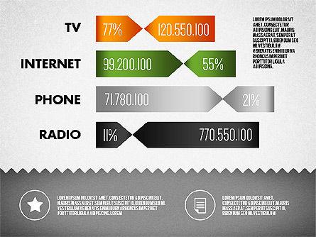 Media Distribution Infographics, Slide 5, 01731, Business Models — PoweredTemplate.com