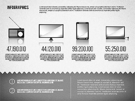 Media Distribution Infographics, Slide 6, 01731, Business Models — PoweredTemplate.com