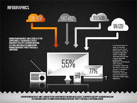Media Distribution Infographics, Slide 9, 01731, Business Models — PoweredTemplate.com