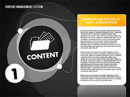 CMS Presentation Template, Slide 10, 01732, Business Models — PoweredTemplate.com
