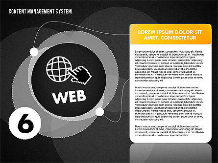 CMS Presentation Template, Slide 15, 01732, Business Models — PoweredTemplate.com