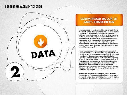CMS Presentation Template, Slide 3, 01732, Business Models — PoweredTemplate.com