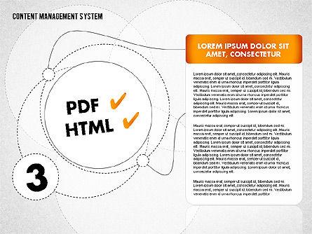 CMS Presentation Template, Slide 4, 01732, Business Models — PoweredTemplate.com