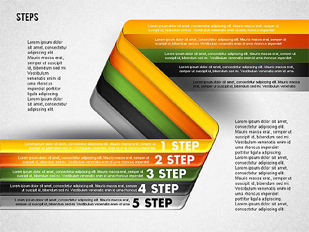Five Step Options, Slide 10, 01734, Business Models — PoweredTemplate.com
