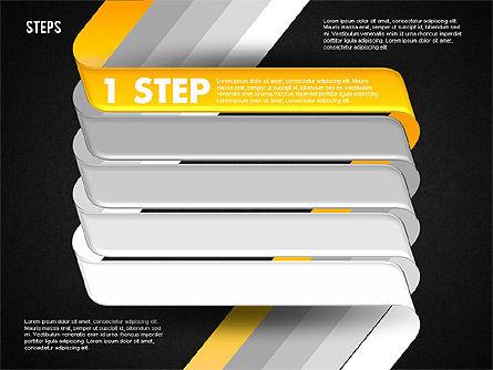 Five Step Options, Slide 11, 01734, Business Models — PoweredTemplate.com