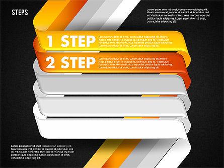 Five Step Options, Slide 12, 01734, Business Models — PoweredTemplate.com