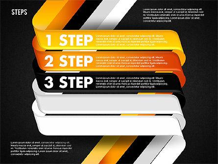Five Step Options, Slide 13, 01734, Business Models — PoweredTemplate.com