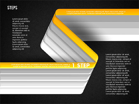 Five Step Options, Slide 16, 01734, Business Models — PoweredTemplate.com