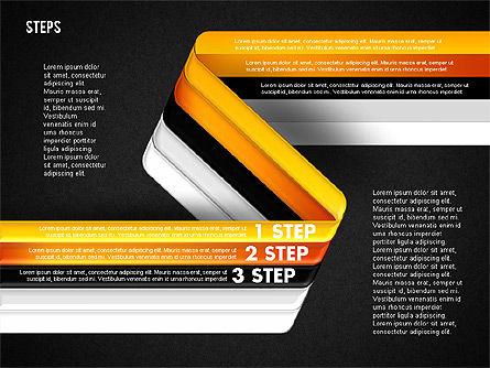Five Step Options, Slide 18, 01734, Business Models — PoweredTemplate.com