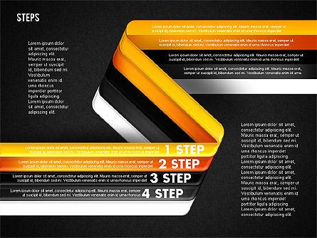 Five Step Options, Slide 19, 01734, Business Models — PoweredTemplate.com