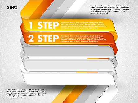 Five Step Options, Slide 2, 01734, Business Models — PoweredTemplate.com