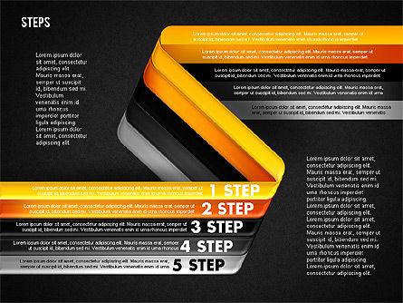 Five Step Options, Slide 20, 01734, Business Models — PoweredTemplate.com