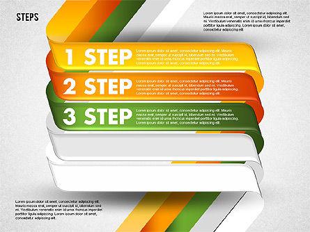 Five Step Options, Slide 3, 01734, Business Models — PoweredTemplate.com