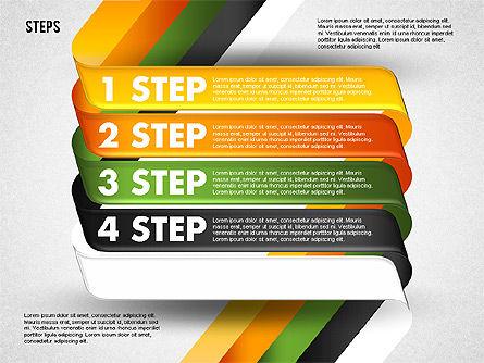 Five Step Options, Slide 4, 01734, Business Models — PoweredTemplate.com