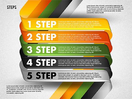 Five Step Options, Slide 5, 01734, Business Models — PoweredTemplate.com
