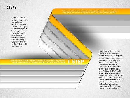Five Step Options, Slide 6, 01734, Business Models — PoweredTemplate.com