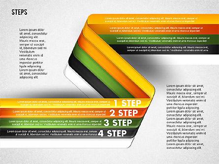 Five Step Options, Slide 9, 01734, Business Models — PoweredTemplate.com