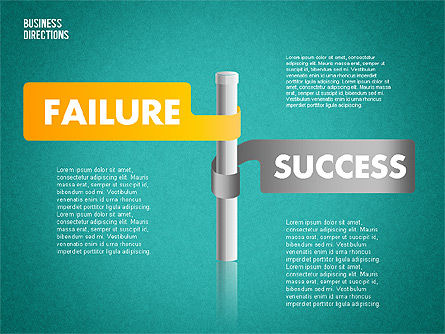 Opposite Directions, Slide 10, 01739, Business Models — PoweredTemplate.com