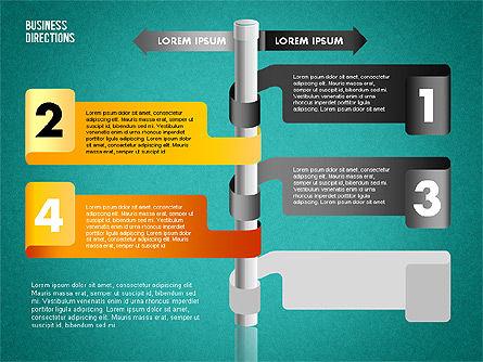 Opposite Directions, Slide 15, 01739, Business Models — PoweredTemplate.com