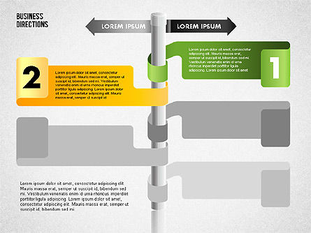 Opposite Directions, Slide 5, 01739, Business Models — PoweredTemplate.com