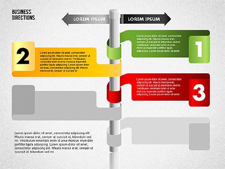Opposite Directions, Slide 6, 01739, Business Models — PoweredTemplate.com