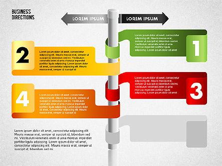 Opposite Directions, Slide 7, 01739, Business Models — PoweredTemplate.com
