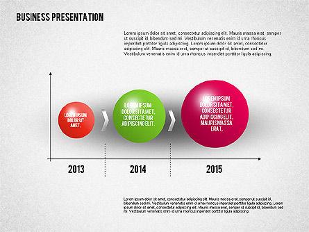 Business Presentation Diagrams, Slide 3, 01741, Business Models — PoweredTemplate.com