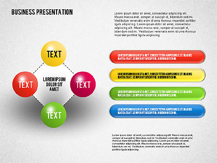 Business Presentation Diagrams, Slide 4, 01741, Business Models — PoweredTemplate.com
