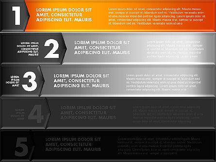Colorful Origami Style Number Options Banner, Slide 11, 01743, Business Models — PoweredTemplate.com