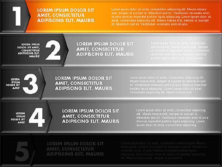 Colorful Origami Style Number Options Banner, Slide 12, 01743, Business Models — PoweredTemplate.com