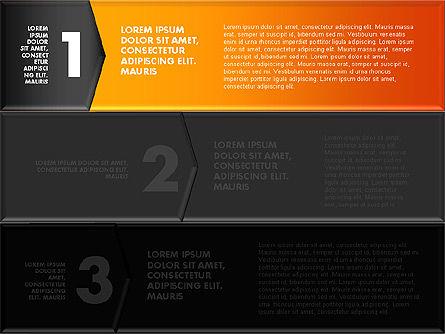 Colorful Origami Style Number Options Banner, Slide 14, 01743, Business Models — PoweredTemplate.com