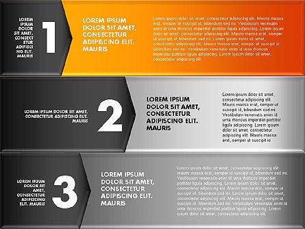 Colorful Origami Style Number Options Banner, Slide 16, 01743, Business Models — PoweredTemplate.com