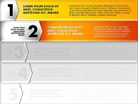Colorful Origami Style Number Options Banner, Slide 2, 01743, Business Models — PoweredTemplate.com