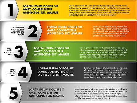 Colorful Origami Style Number Options Banner, Slide 5, 01743, Business Models — PoweredTemplate.com