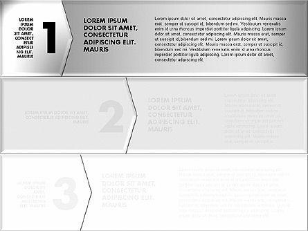 Colorful Origami Style Number Options Banner, Slide 6, 01743, Business Models — PoweredTemplate.com