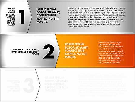 Colorful Origami Style Number Options Banner, Slide 7, 01743, Business Models — PoweredTemplate.com