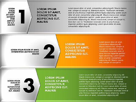 Colorful Origami Style Number Options Banner, Slide 8, 01743, Business Models — PoweredTemplate.com